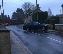 Reminder that the road through Caldecott and Chelston Rise is no longer gritted