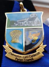 Image of Chairman's badge of office