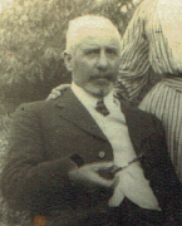 E. Jabez Browning, the first Chairman of the Parish Council in 1895.