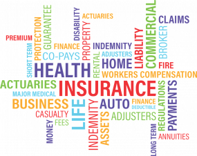 Image art of types of insurance