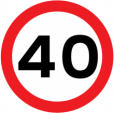 New 40 MPH limit on the Chelveston Road in Higham Ferrers